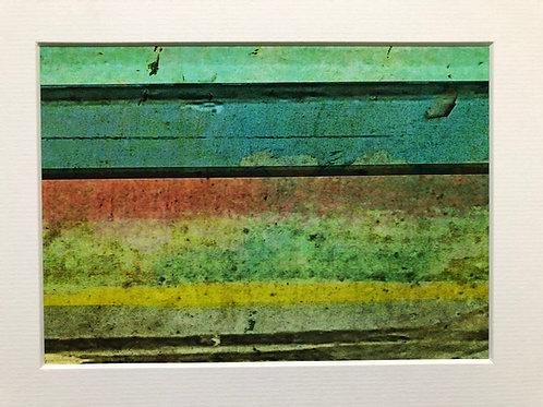 Justine Miller, Sea II, 20.5cm x 15.5cm mounted, print