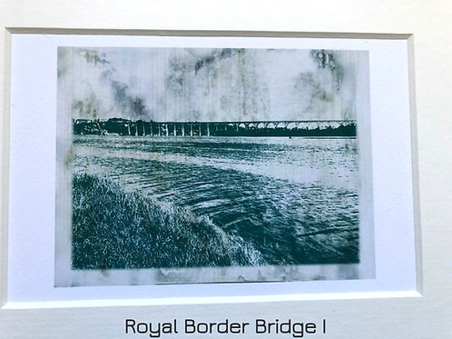 Justine Miller, Royal Border Bridge series, 20.5cm x 15.5cm, digital print