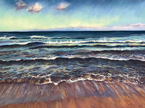 Pastel Seascapes with Fiona Carvell, Sunday 15th, 2pm - 4pm