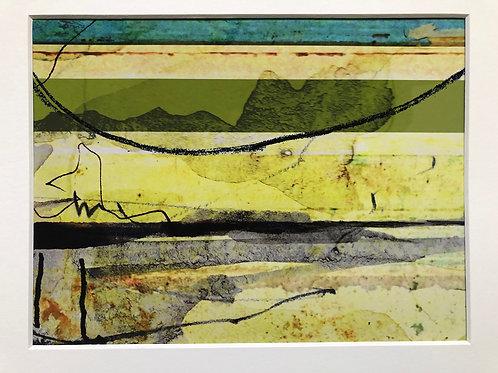 Justine Miller, The Moors, 30cm x 24cm mounted, print