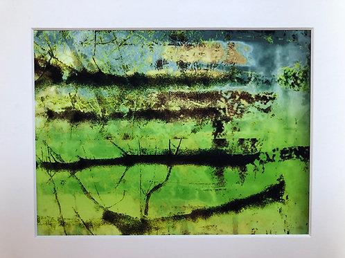 Justine Miller, Landscape II, 30cm x 24cm mounted, print