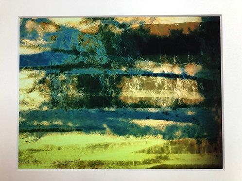 Justine Miller, Landscape III, 30cm x 24cm mounted, print