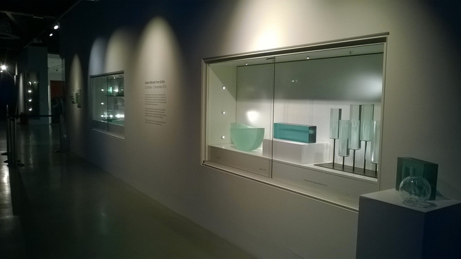 PhD Exhibition at National Glass Centre