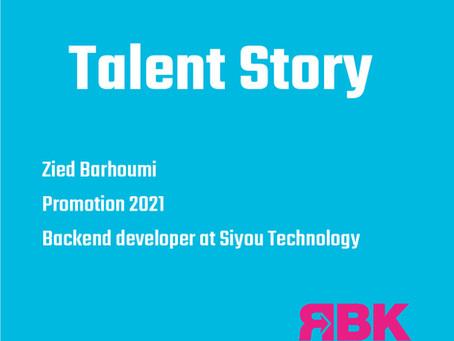 Talent Story : Zied Barhoumi