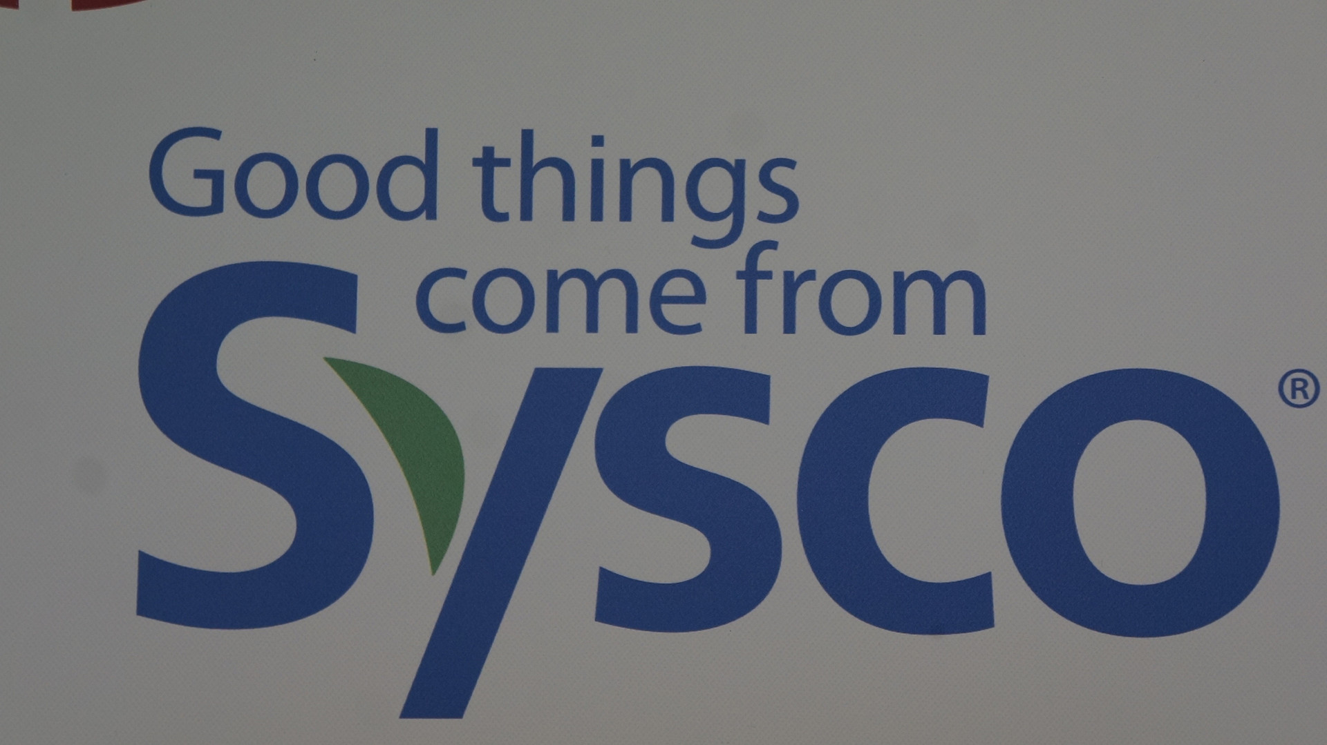 Thank you, Sysco, for being a great host!