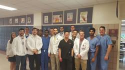 Ball High School Health Camp