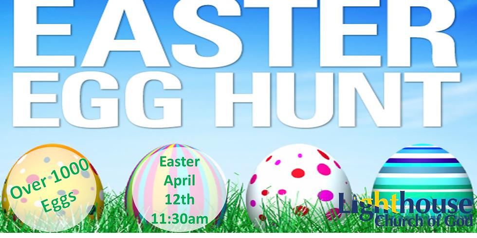 Easter Egg Hunt- April 12th 11:30am All Children welcome