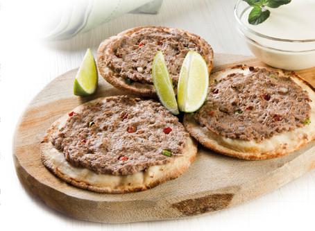 Esfiha de Carne com Pita Bread Mini