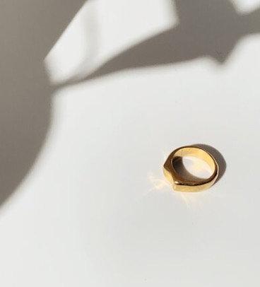 Organic Pinky Ring
