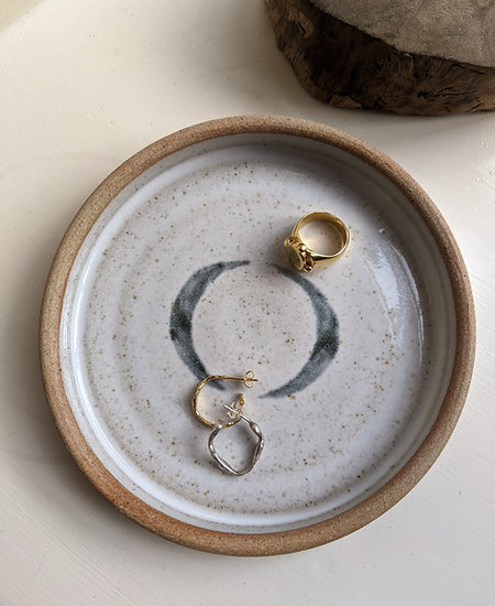 Crescent  Moon Jewellery plate