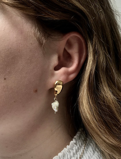 Pearl & Drop Earring