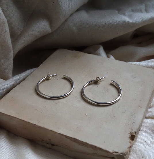 Large Hoops Earrings