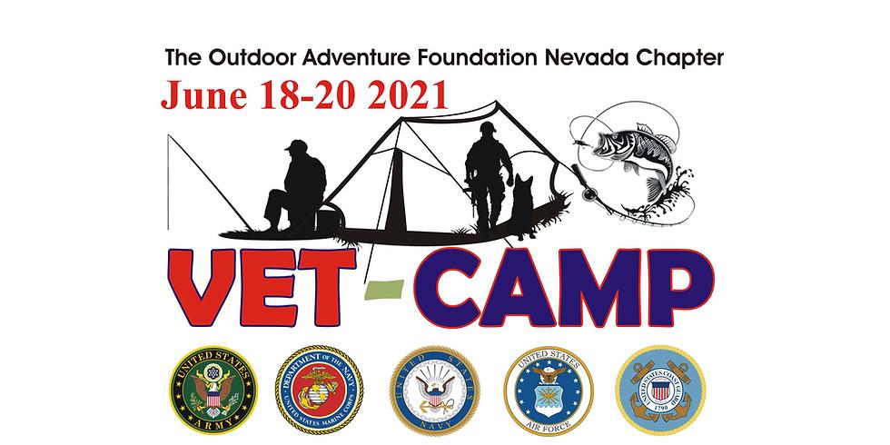 VET-CAMP 2021 Eagle Valley Reservoir