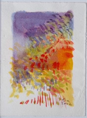 Akvarel 10x15cm
