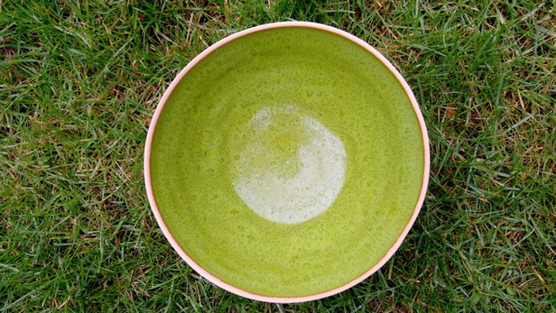 Grøn salatskål
