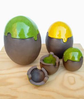 Æg som puslespil
