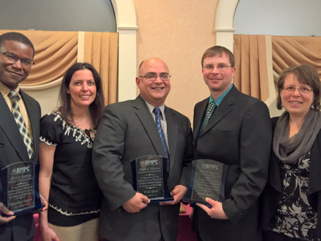 Founding Members Receive Albert E. Kakretz Award