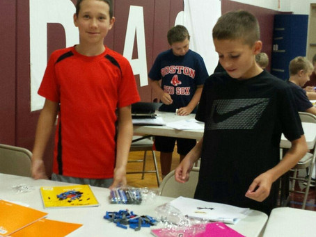 First Meeting of Lego League