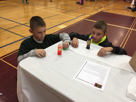 Science Fun Day at the YMCA