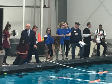 SeaPerch Season Ends with Competition at RPI