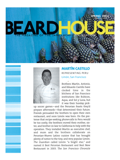 James Beard Nomination