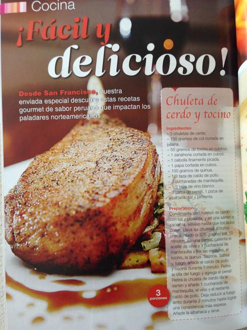 Chuleton Carlitos (Pork Chop)