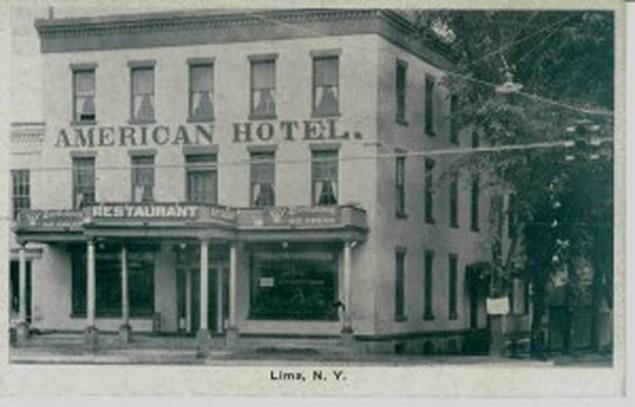 American Hotel - Lima, NY.