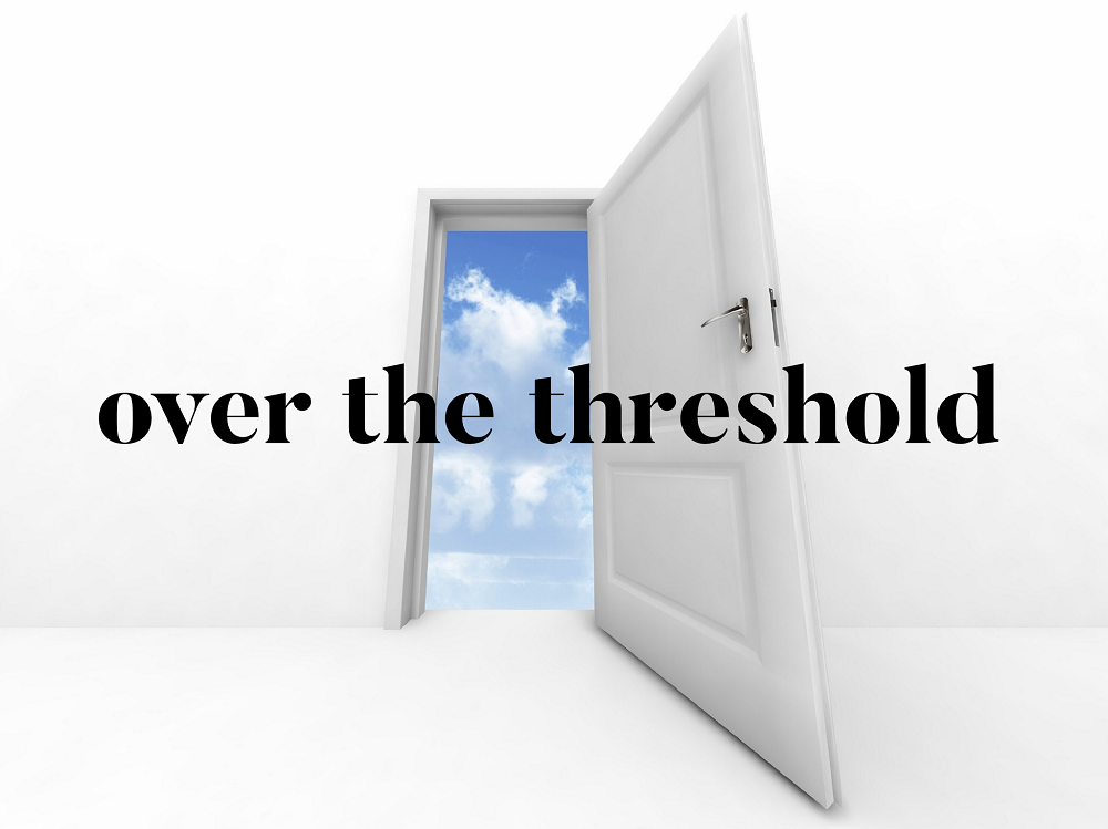 Kelly Neff Speaks - Tuesday Treasures - Over the Threshold 4-23-19