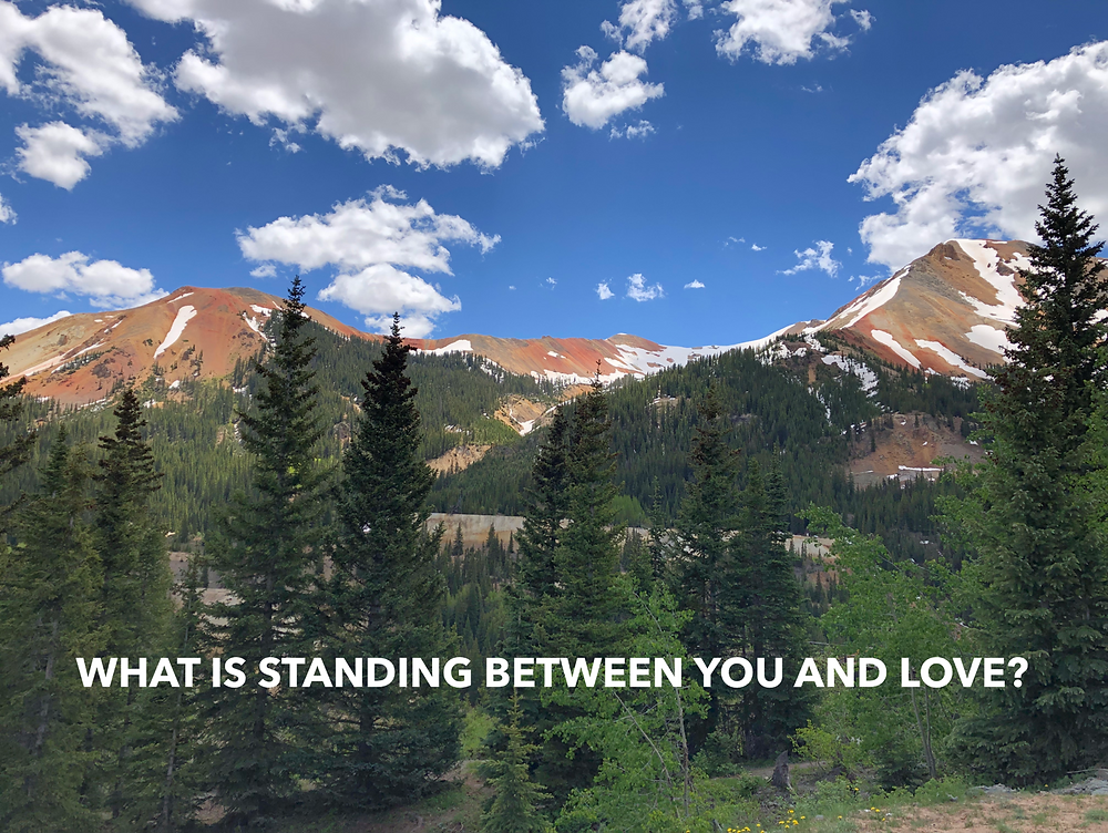 Kelly Neff Speaks - Tuesday Treasures - What is Standing Between You and Love 7-9-19
