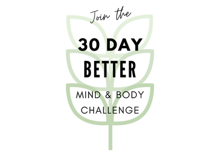 30-Day Better Mind & Body Challenge