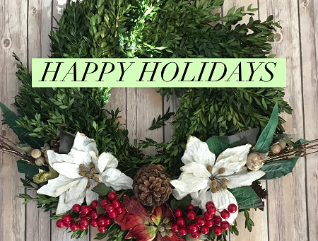 Happy Holidays Friends!