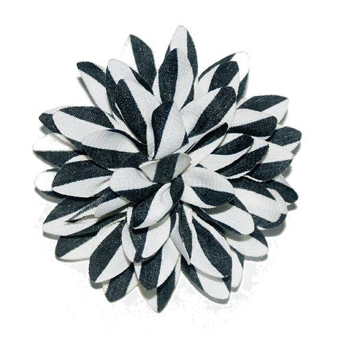 The Black & White Silk
