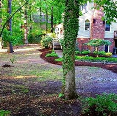 leaf removal, yard cleanup, ready for sp