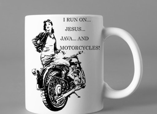 JESUS, JAVA AND MOTORCYCLES