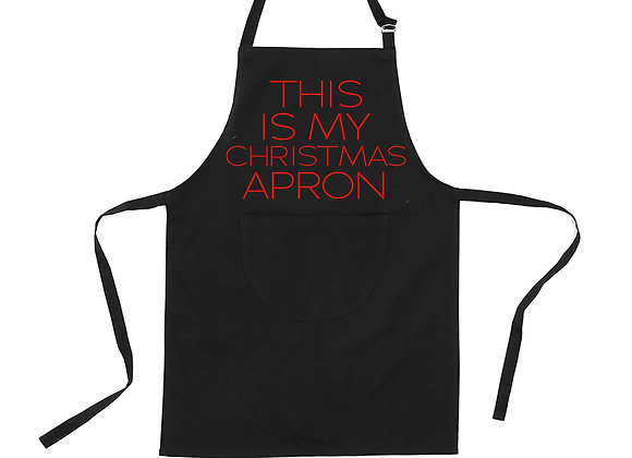 This is Christmas apron