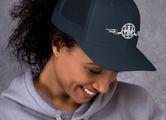 Hot Metal Moto Logo Trucker Cap