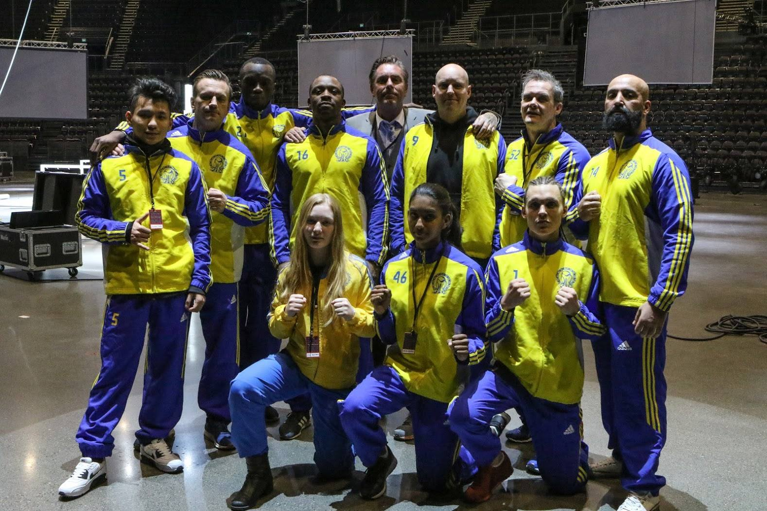 Team Sverige, The Nordic Rumble 2017