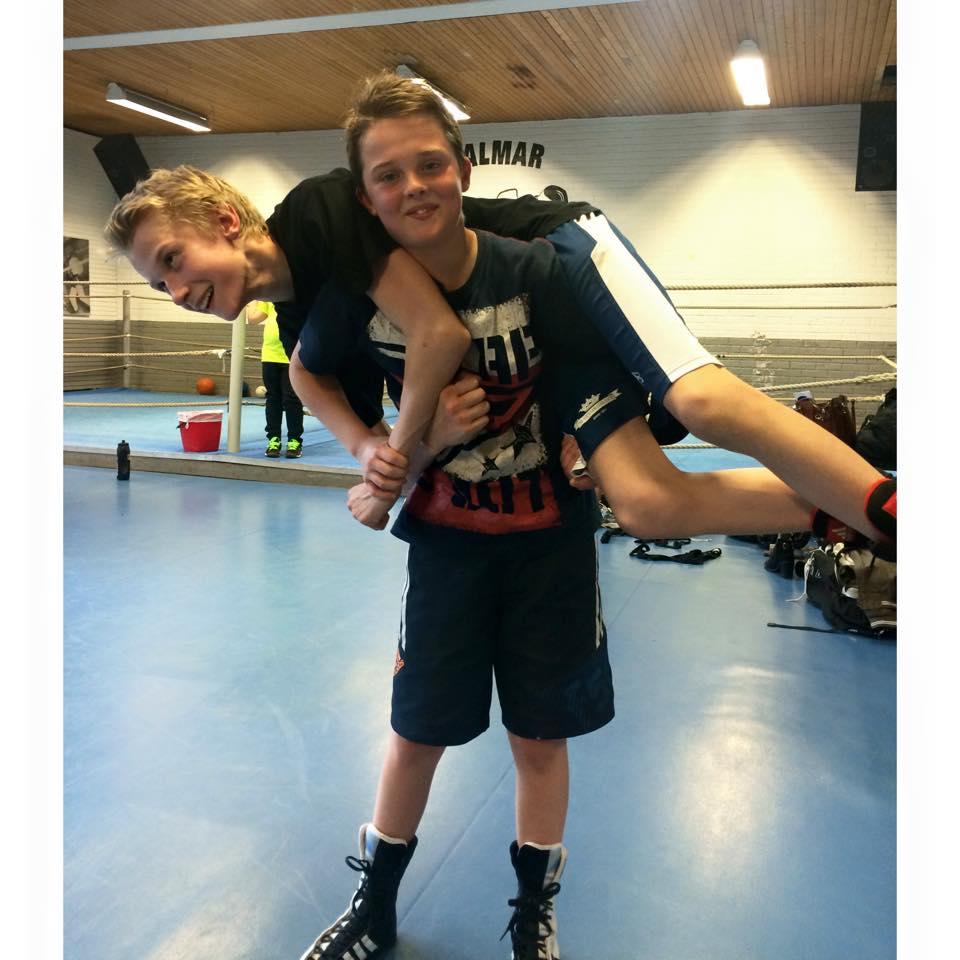 Noah Nordby och Hampus