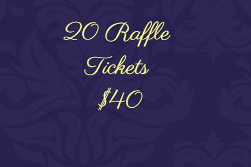20 Raffle Tickets