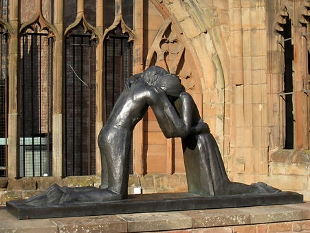 Peace&Reconcilliation Coventry Cathedral