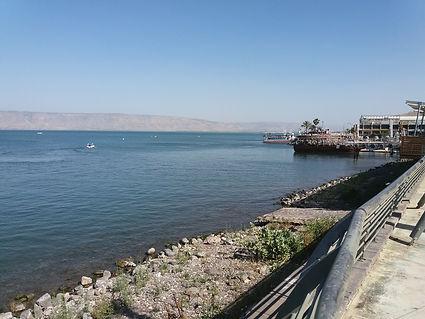 The Sea of Galilee at Tiberias.jpg