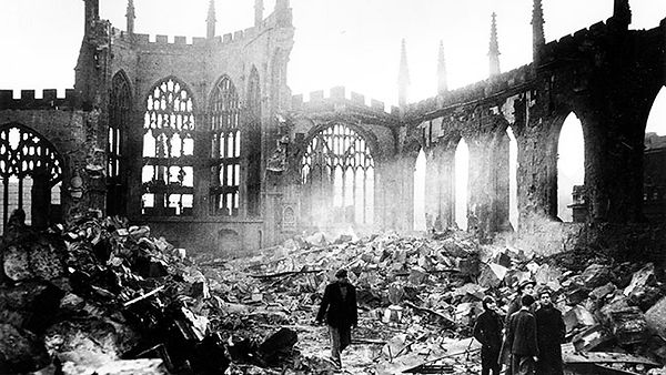 Coventry Cathedral November 14th, 1940.j