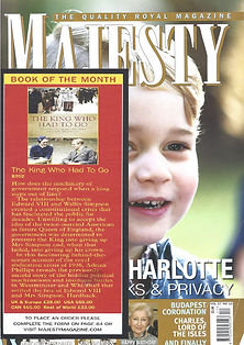 majesty front cover plus article.jpg