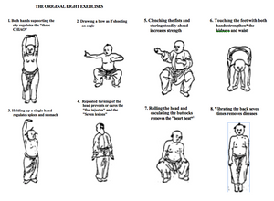 8 Essential Qigong Exercises as taught Master ST Ying