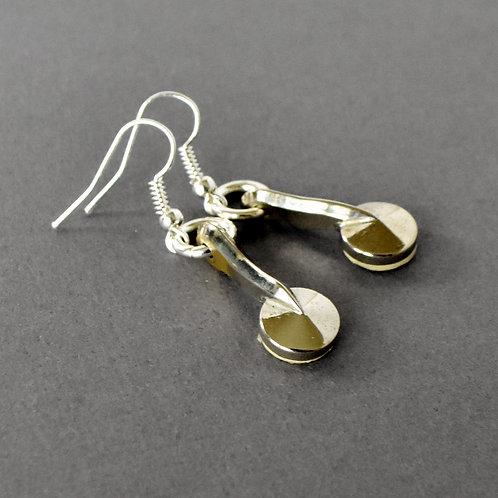 Clarinet Key Earrings
