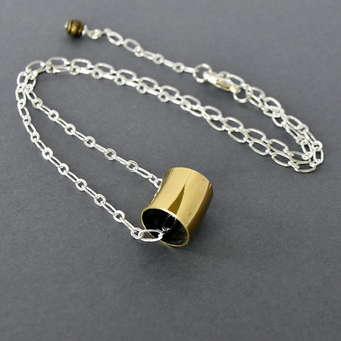 French Horn Slide Necklace