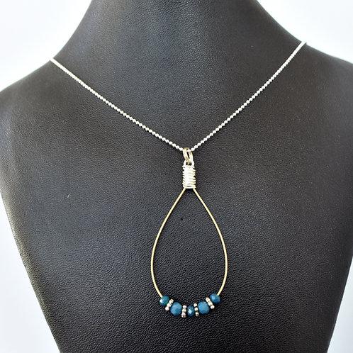 Mandolin Teardrop Necklace