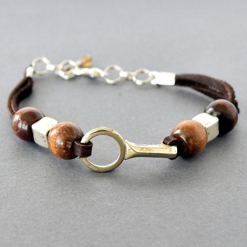 Clarinet Key Boho Bracelet