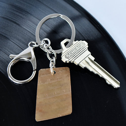 Drum Cymbal Key Chain