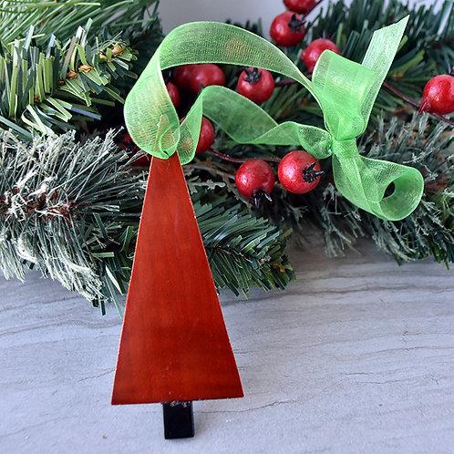 Cello Wood Tree Ornament